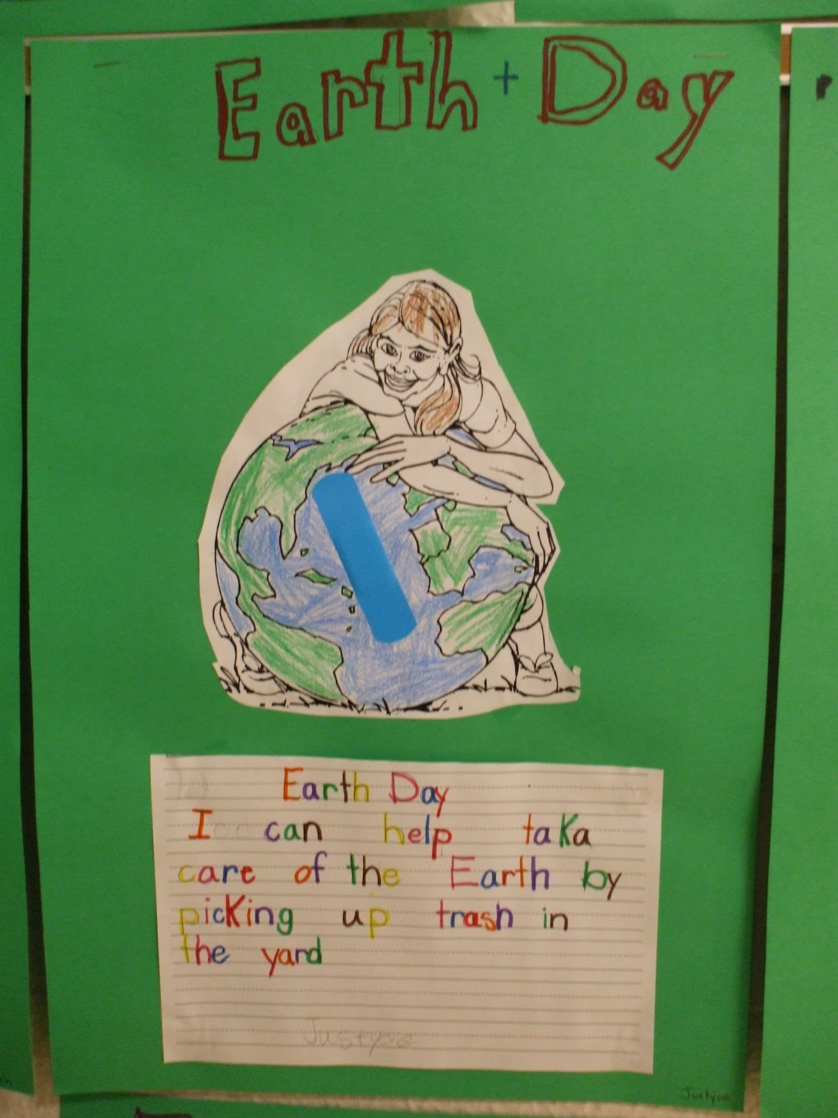 Welcome To First Grade Room 5 Earth Day