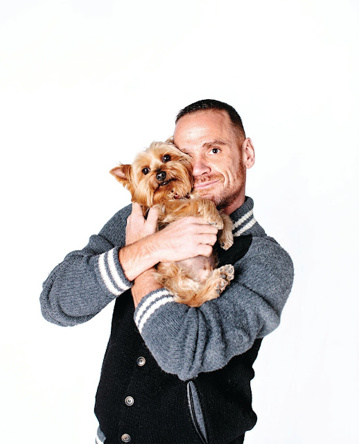 When Dogs Heal: Co-author Dr. Rob Garofalo with his dog Fred
