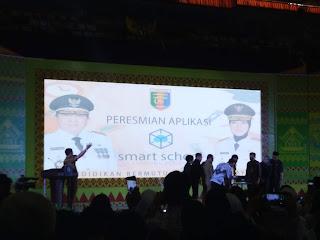 peresmian aplikasi smart school lampung