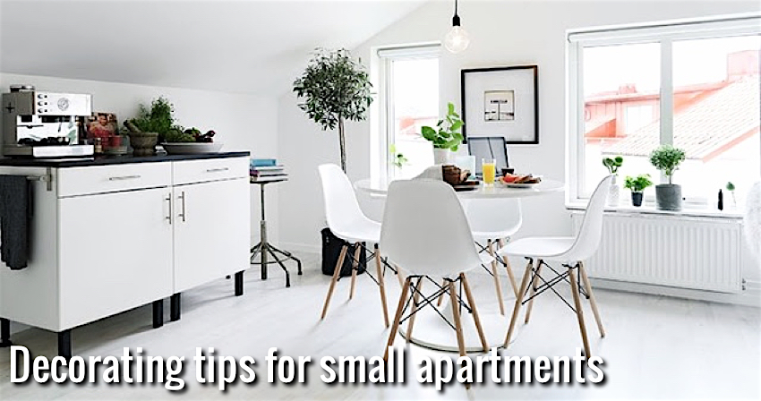Decorating Tips For Small Apartments 10 decorating tips for small apartments | nordic days -flor