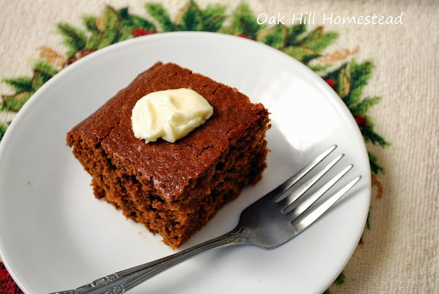 Gingerbread, holiday comfort food