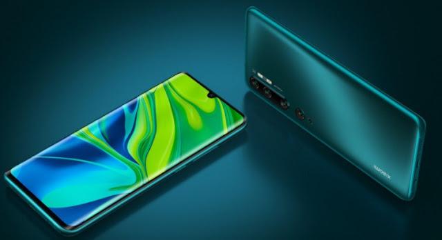 Features Xiaomi Mi Note 10 Pro