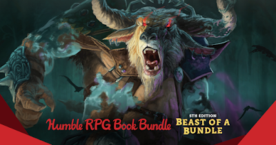 Humble RPG Book Bundle: 5th Edition Beast of a Bundle