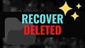 FAST >> Recover Deleted Files or Folders - Windows / Mac / Pendrive