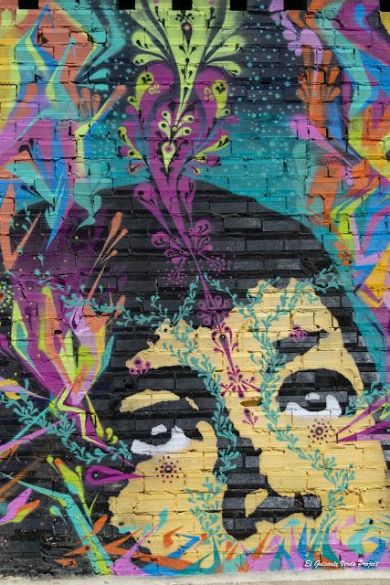 Mural en Cortes 24, por Stinkfish y Juan Malk - Bilbao, por El Guisante Verde Project