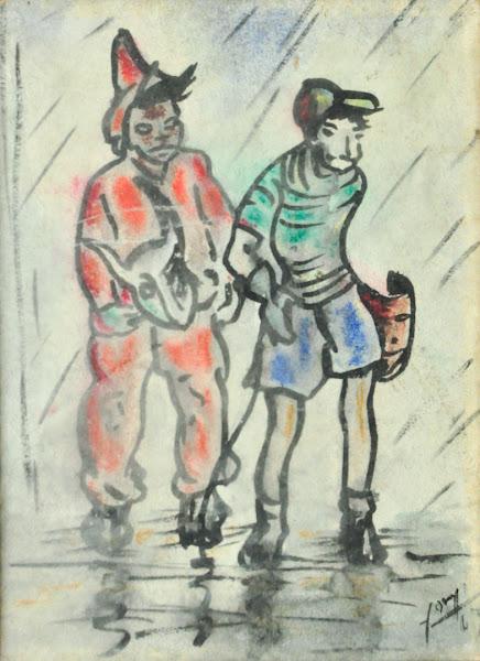 Dibujo sin titulo, 1963
