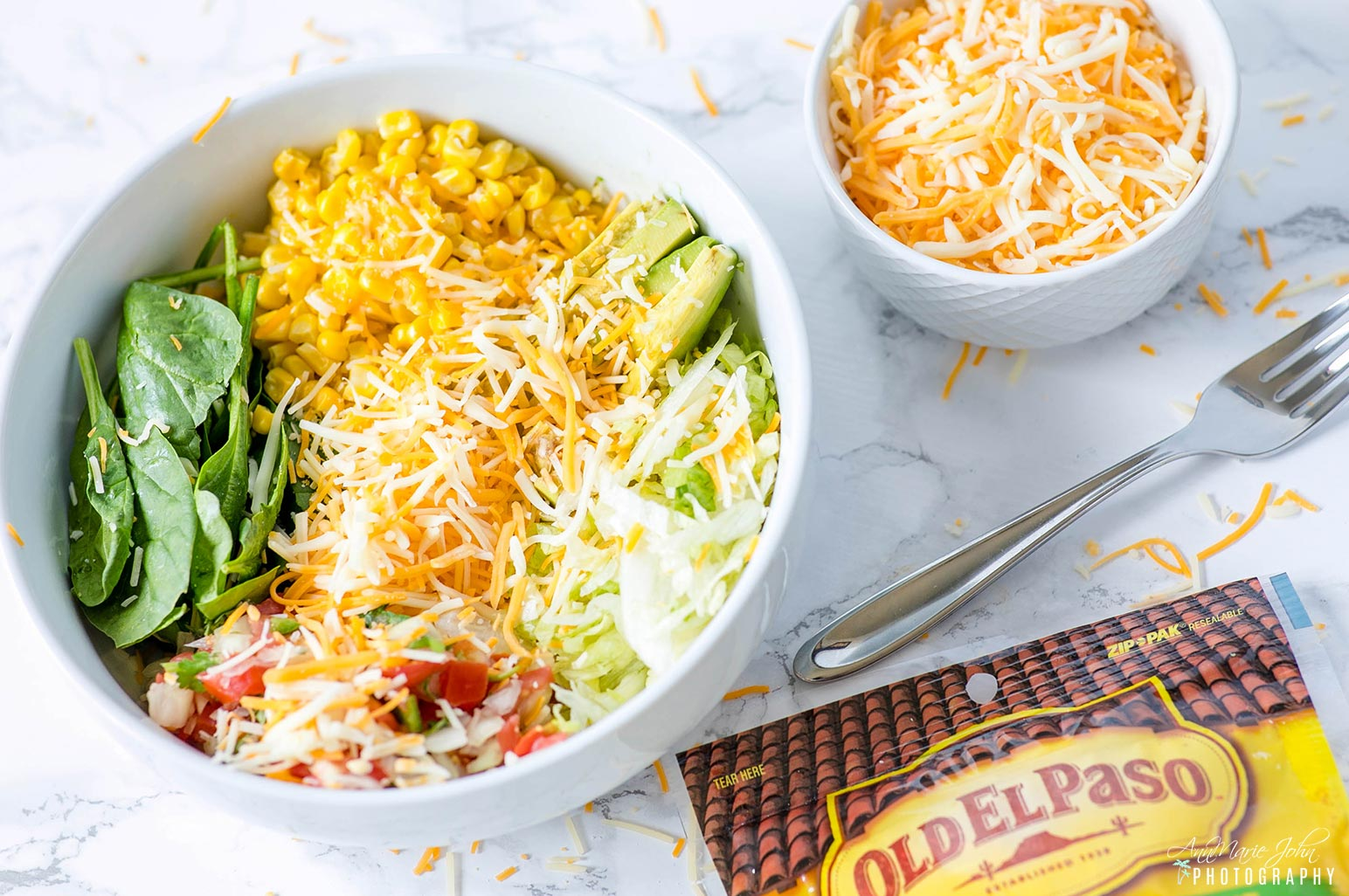Easy Cheesy Burrito Bowl