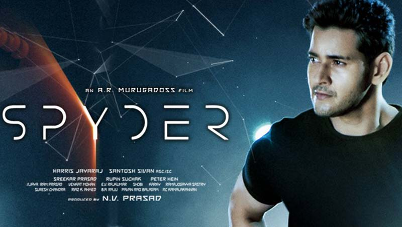 Spyder 2017 Hindi UNCUT 720p WEB HDRip Dual Audio Movie Poster