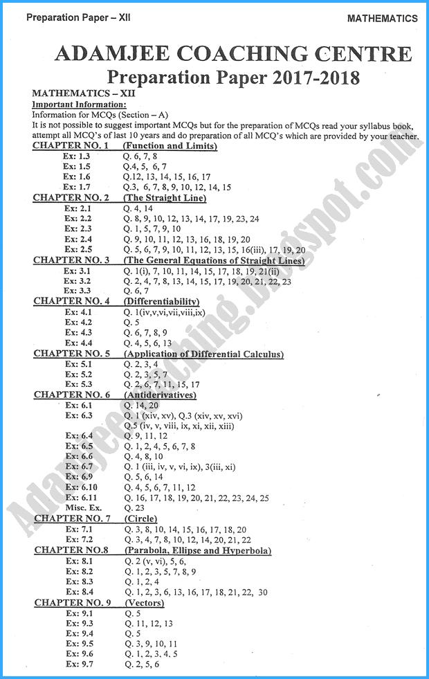 mathematics-12th-adamjee-coaching-guess-paper-2018-science-group