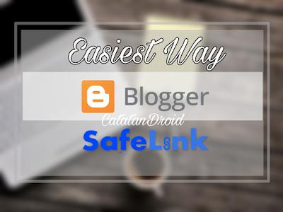 Cara Paling Mudah Membuat Halaman Safelink Blog Sendiri Menggunakan Goo.gl Shortener
