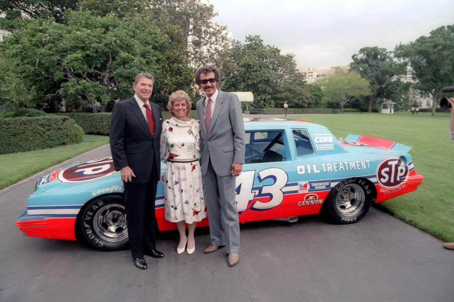"Racing Legend of the 80s, Richard Petty the ""King of NASCAR"""