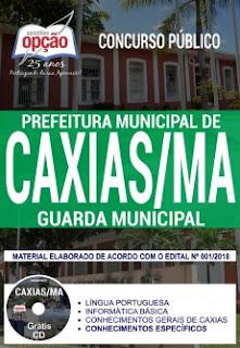 Concurso Prefeitura de Caxias 2018