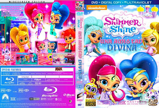 Shimmer y Shine Maxcovers