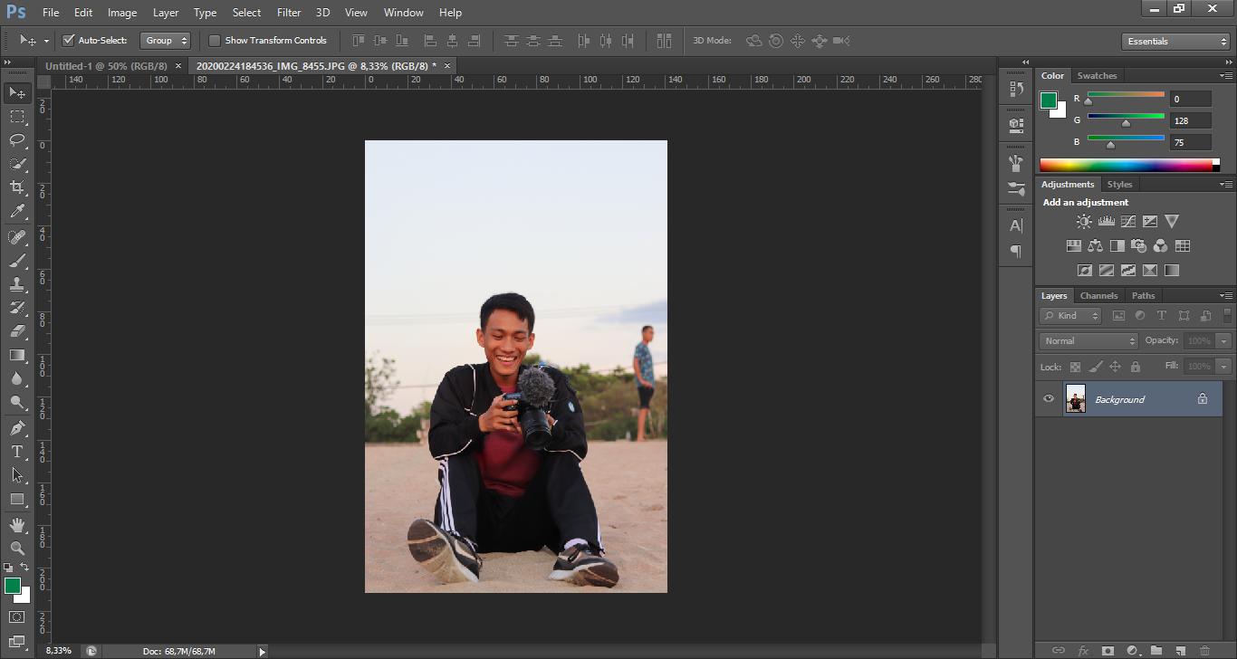 Cara Membuat Banner Sederhana dengan Photoshop - Rasmakom