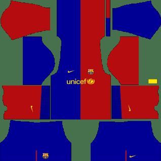 Kit DLS FC Barcelona 2008/2009