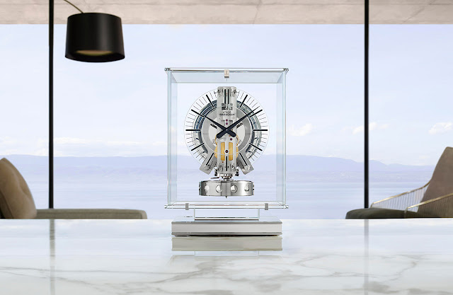 Jaeger-LeCoultre Atmos Transparente ref. Q5135204