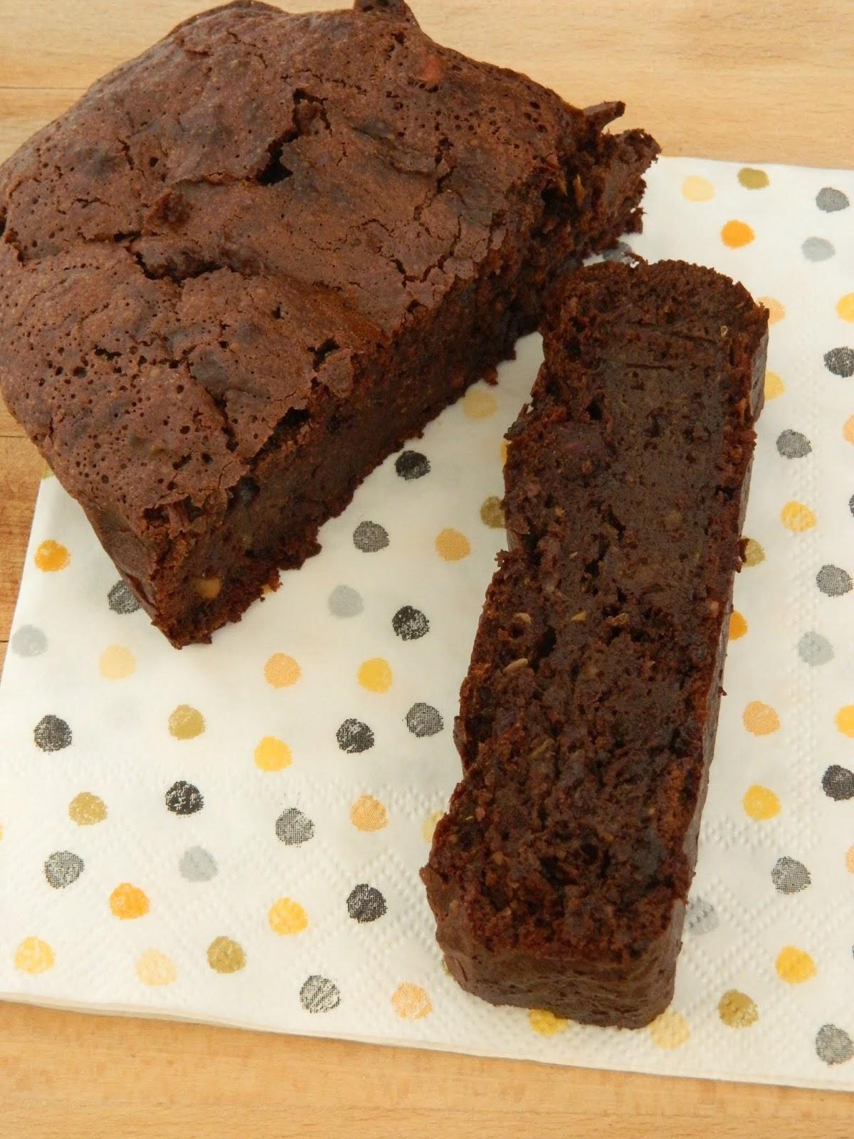 LAKIWIZINE: {Gâteau} Brownie chocolat - noisette - courgette