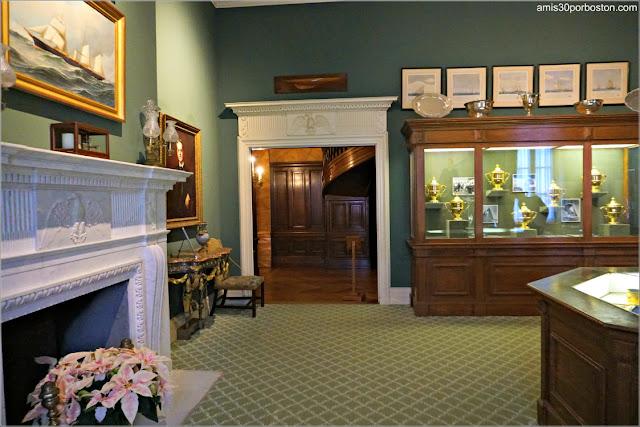 Sala de Trofeos de Marble House, Newport