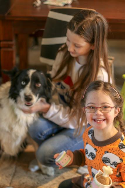 Louisa, Jolina und der Hund Conner