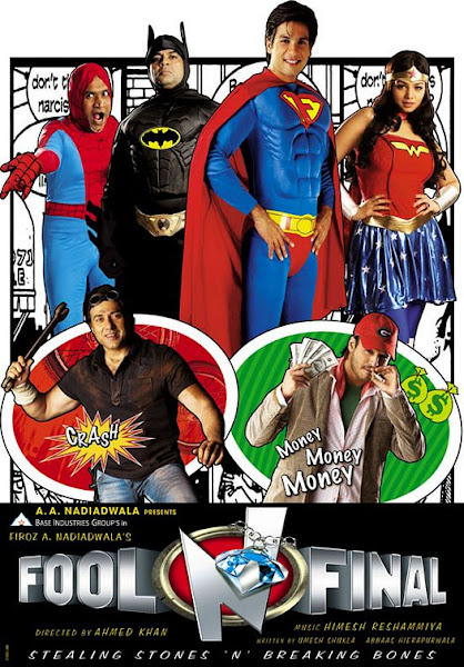 Poster of Fool N Final 2007 720p Hindi DVDRip Full Movie Download