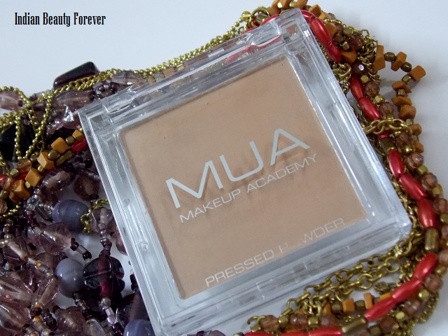 Make Up Academy MUA Pressed Powder Review in shade 4