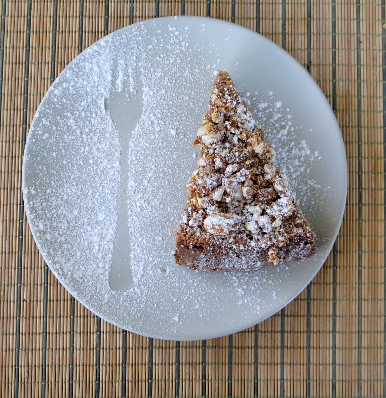 торт из молочного шоколада с пралине