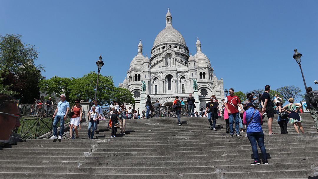 Basilika Sacré Coeur Spot Wisata Tersembunyi di Paris