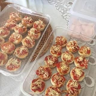 Resep Pizza Mini Teflon Untuk Jualan Harga 1000