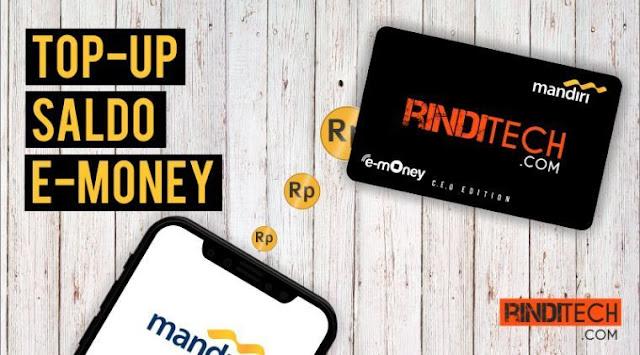 Cara Menambah Saldo e Money Mandiri via iBanking
