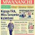 Vichwa Vya  Habari Vya Magazeti ya Leo Jumamosi Ya April 2, 2016, Ikiwemo ya Kigogo TRA, Miss Tanzania Kizimbani