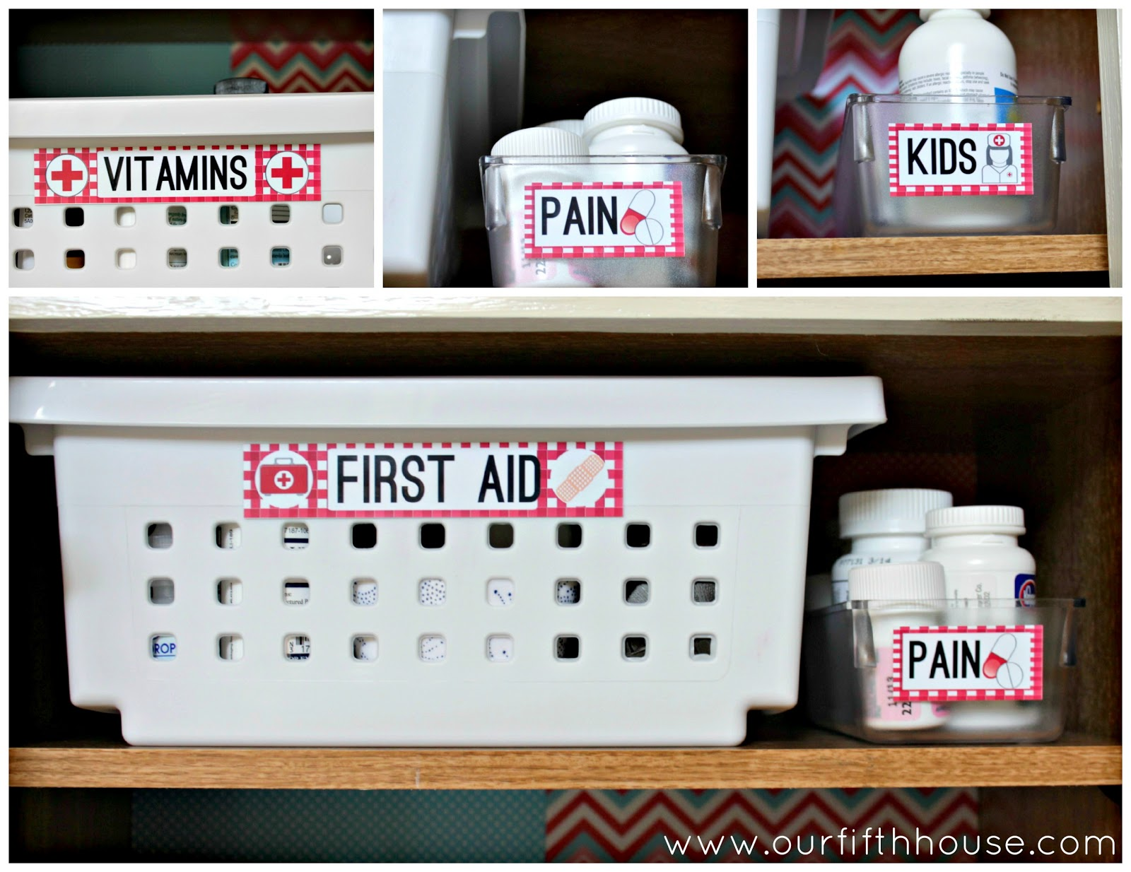 Organize It: The Medicine And Cookbook Cabinet