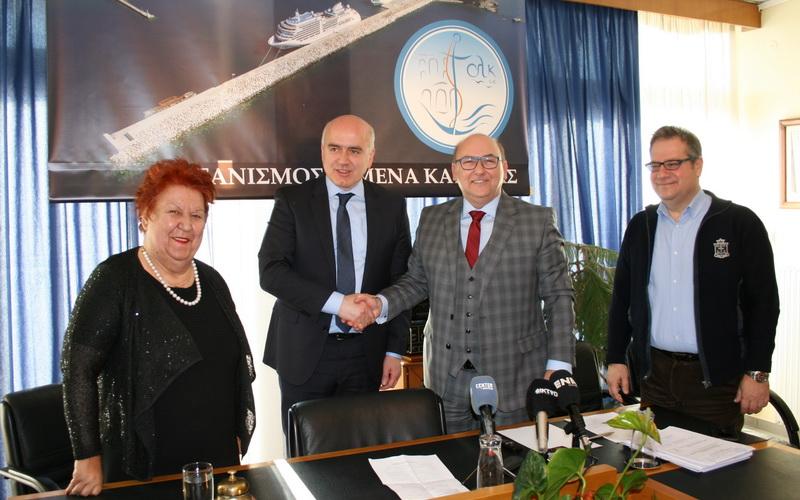 1,25 εκατ. ευρώ από το ΕΣΠΑ της Περιφέρειας ΑΜ-Θ για το λιμάνι της Καβάλας