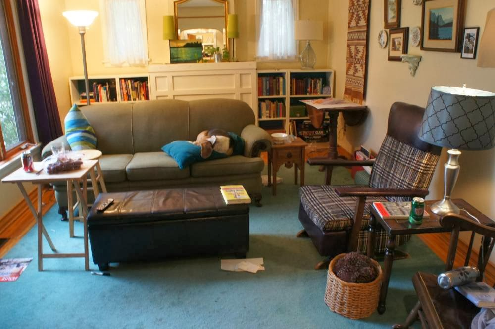 Very Adequate Living Blog: Too Much Furniture in a Room? AM74