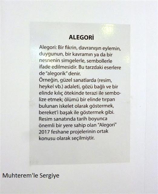 Alegori konulu çalışmalar