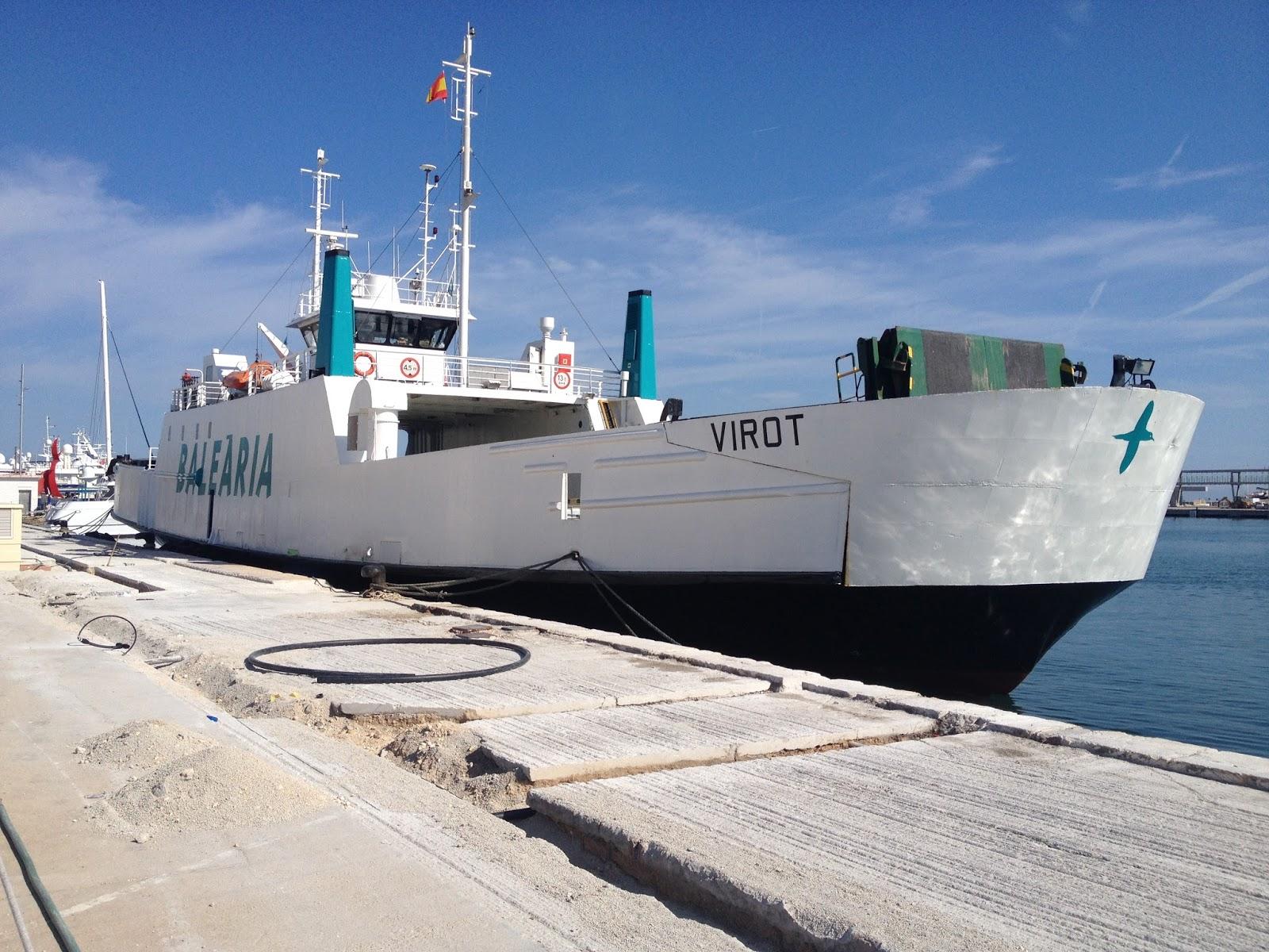 Ferrybalear el doble ended virot de bale ria rumbo a ibiza for Oficina balearia ibiza