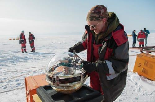 Russia is watching neutrinos on Lake Baikal