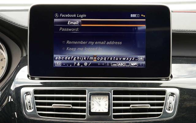 Mercedes CLS 400 2017 sử dụng Hệ thống giải trí tiên tiến nhất