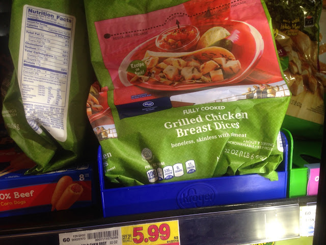 Grilled Chicken Dices, 22 oz - Kroger