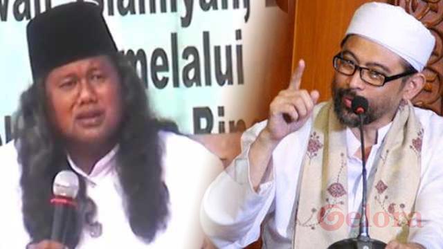 KH Luthfi Bashori dan Gus Muwafiq