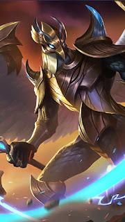 Kaja Nazar King Heroes Tank Support of Skins V2