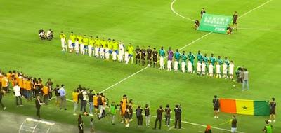 البرازيل والسنغال مباراة ودية