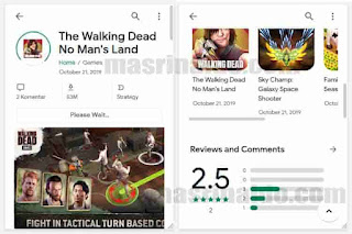 Review Template Blogger Google Play V2 Seperti Playstore 4