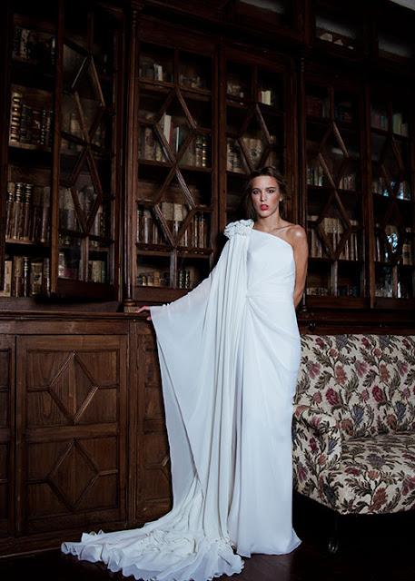 Vestido de novia de Jorge Vázquez
