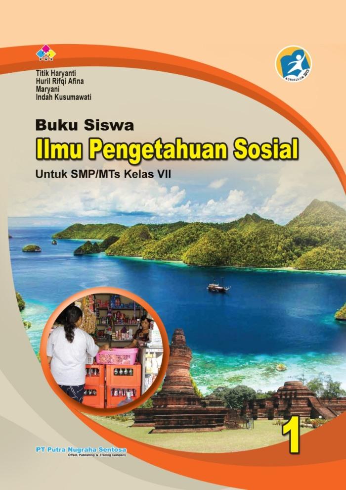 Buku Siswa Ilmu Pengetahuan Sosial 1 Untuk SMP/MTs Kelas VII Kurikulum 2013