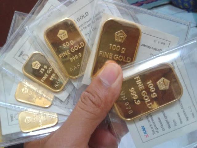 Harga Emas Kembali Berbalik Arah Setelah Melemah 3 Persen