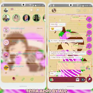 Baby Girl Theme For YOWhatsApp & Aero WhatsApp By Ale