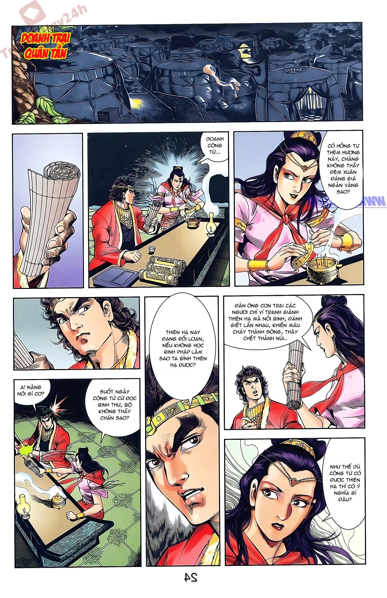 Tần Vương Doanh Chính chapter 48 trang 10