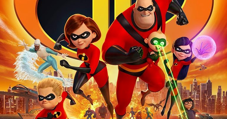 ff54766c664 New Trailer   Poster for INCREDIBLES 2