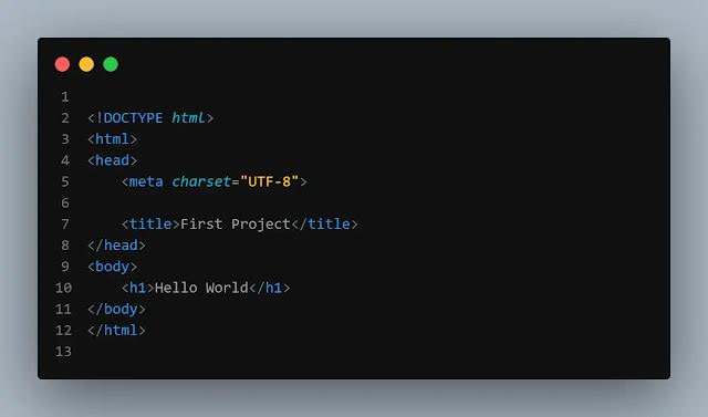 كود بلغة html