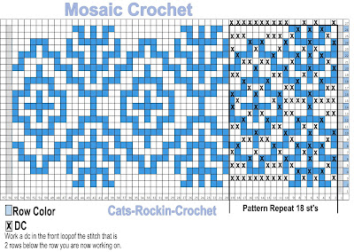 mosaic crochet